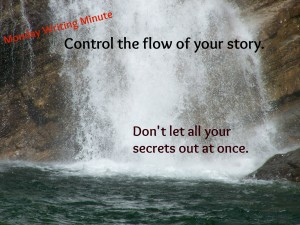 Control the flow