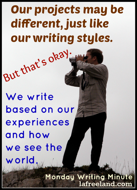 we all write differently